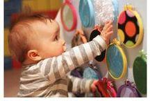 Baby Activities / A collection of ideas to keep your daycare babies smiling.