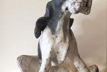 Ceramics / Animal sculptures