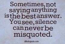 Words of Wisdom / by Cathy Smith
