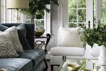 ~To decorate living spaces... / Diverse decorating & display ideas for living, dining and enjoying everyday life...