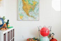 crafty play room / by Jenna Grant
