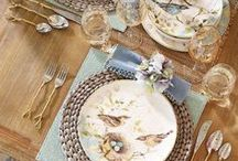 ~To entertain... / Gatherings of friends and family, sharing good times with inviting decor...