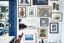 ~To arrange... / On the wall, in a table scape or around a room, treasure rich vignettes...