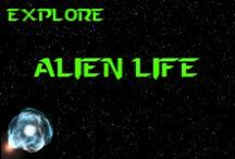 """Extraterrestrial life / Extraterrestrial life (from the Latin words: extra [""""beyond"""", or """"not of""""] & terrestris [""""of or belonging to Earth""""]) is defined as life that doesn't originate from Earth. It's often also referred to as alien life, or simply aliens (or space aliens, to differentiate from other definitions of alien or aliens). These hypothetical lifeforms range from simple bacteria-like organisms to beings far more complex than humans. {Wikipedia} *** http://www.facebook.com/pages/K-Llewellin/456756831010691 ***"""