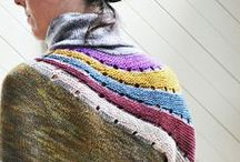 ~To knit... / Stitches, intricate or simple, yarn manipulated to create sweaters of wonder and charm...