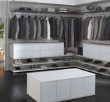 Closets We Love: His / The modern and masculine spaces that men like to call their own.