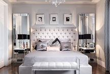 ~To decorate the bedroom... / A private retreat or an elegant escape, ideas to create the perfect bedroom...