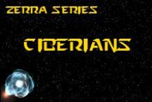 Novel - Ciberians - Race Idea Board / Ancient Ciberians were ancient seafarers, traders & pirates. Modern-day Ciberians plough the galaxy in search of treasure. They show no fear when it comes to exploring the uncharted depths of the galaxy. A Ciberian's status comes from the number of light years it has travelled, how many planets it has bartered with, & by how much treasure it has found. *** This race is featured in the novel 'A Candle Amongst the Stars' by K. Llewellin. Character descriptions © of K. Llewellin.