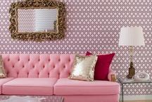 Interiors - Pink rooms / Pink room