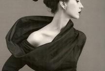 1950's fashion - black and white