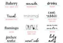 Graphic Design- tipografias
