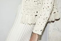 ~To crochet... / Tatting, looped stitches, macrame, intricate or simple, pattern perfection...