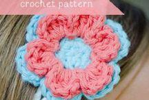 Crochet > flowers & appliqués / by Amy Durant