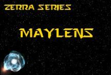 Novel - May!ens - Race Idea Board / The May!ens (pronounced MAY-LENS (or MAY-!-ENS by natives)) are a conquered race who now inhabit a red desert world. *** This race is featured in the novel 'A Candle Amongst the Stars' by K. Llewellin. Character descriptions © of K. Llewellin.