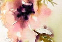 ~To watercolor... / Painted to perfection with just the right brushstrokes in movement...