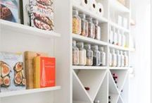 Pantry Perfection / A pantry requires organization achieved through excellent functional design. Shelving, drawers, and baskets combine to accommodate specific needs and uses, ensuring accessibility and order in a space where items are continually removed and replaced.