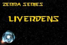 Novel - Liverdens - Race Idea Board / The Liverdens (pronounced L-EYE-VER-DENS) are a conquered race, but are still common thanks to space exploration & colonisation. They are highly militarised & developed race. *** This race is featured in the novel 'A Candle Amongst the Stars' by K. Llewellin. Character descriptions © of K. Llewellin.