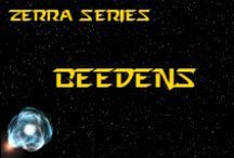 Novel - Beedens - Race Idea Board / Beedens (pronounced BEE-DENS) are an unconquered, marsupial-like race, residing in a red dwarf system. *** This race is featured in the novel 'A Candle Amongst the Stars' by K. Llewellin. Character descriptions © of K. Llewellin.