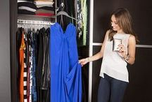 Catt's Boutique Closet / Have a dream closet in mind? Get inspiration from Catt Sadler's closet, brought to you by yours truly. / by California Closets