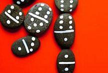 CRAFT kids · STONES, STICKS, WOOD / Manualidades con piedras, madera, palos de helado, pinzas