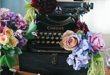~For Novels and Nuptials - A Booklover Wedding... / My word! Page upon page of ideas, bound together in matrimony...