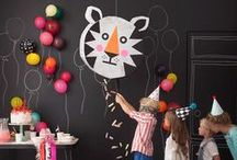 Fiesta - ideas decoración y juegos / ideas para eventos