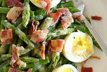 ~To toss... / With a mix of fresh ingredients in every color, give a great salad a good toss...