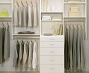 Spaces We Love: Couples / The ideal shared spaces or #closets: a side for each half of the whole.