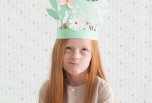 PARTY | hats & crowns / Wear yout invisable crown every day!