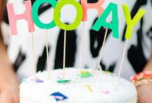 PARTY | cakes & toppers / Every cake needs a topper