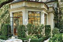 ~To beautify the homescape... / Landscape and detailing bring curb appeal to your happy home...