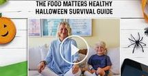 Hauntingly Healthy Halloween Recipes! / Want to stay healthy this Halloween? Ditch the junk food, get the kids in the kitchen and create these hauntingly healthy recipes!