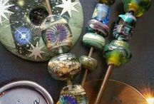 ~To lampwork... / A beautiful collection of glass beads in all shapes, colors, sizes and details...