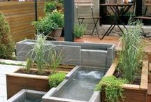 Jardin et Terrasse / Inspiration jardin zen japonais, terrasse...