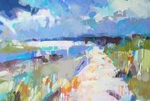 Abstract Landscape Painting / Abstract Landscape Painting