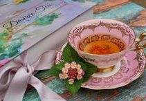 ~For Tea at Three... / Party or in private, graceful and gracious, enjoying time well spent brewing and sipping the joys of tea...