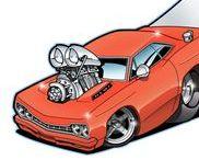 Comic Cars