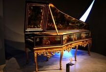 Musical Instruments / Mainly Early Music Instruments.  Harpsichord etc. / by SATONO