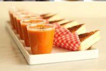 Finger FOODS / Pequenas delícias para festinhas