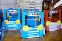 Papelão é POP! / Artes, decoração e brinquedos feitos de papelão, caixas de leite, de cereais, rolos de papel higiênico, etc. de papel,