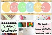 Craft Art & Mess / Craft Art & Mess Blog...Create. Inspire. Share.  A blog about Handmade, Art, Craft and DIY with a little bit of life thrown in for fun.