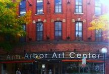 Our building! / We have been in Ann Arbor since 1909! And since 1975 we have been located in Liberty Street, bringing Art to our community and support to local artists!