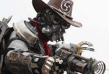 Steampunk / Steampunk refers to a subgenre of science fiction and sometimes fantasy—also in recent years a fashion and lifestyle movement—that incorporates technology and aesthetic designs inspired by 19th-century industrial steam-powered machinery. / by Marco