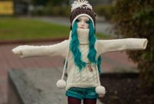 Crochet & Knit for Dolls / Inspiration and patterns.