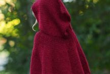 Capes and Ponchos / Inspiration and tutorials.