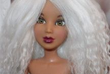 Doll Wigs / Tutorials for making doll wigs.