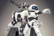 Futuristic Dolls and Figures / Cyberpunk and futuristic.