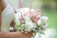 Bridal Bouquets - Soft & Lush / Bridal bouquets that are soft, lush, elegant and full of blooms