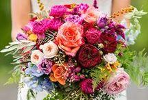 Bridal Bouquets - Colourful & Bright / Bright, cheery and colourful bridal bouquets