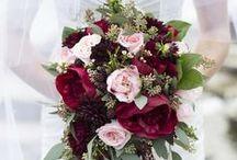 Bridal Bouquets - Rich & Tasty / Bold, rich, full, tasty, lush bridal bouquets